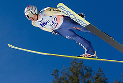 Simon Ammann of Switzerland during Flying Hill Individual Qualifications at 1st day of FIS Ski Jumping World Cup Finals Planica 2012, on March 15, 2012, Planica, Slovenia. (Photo by Vid Ponikvar / Sportida.com)
