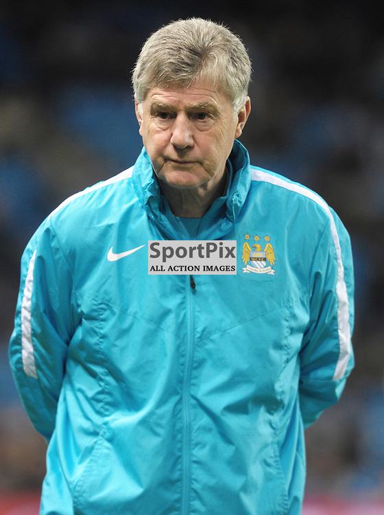 Manchester City coach Brian Kidd<br /> <br /> Manchester City v Dynamo Kiev, UEFA Champions League, Tuesday 15th March 2016<br /> <br /> (c) Alex Todd | SportPix.org.uk