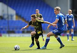 Cameron Hargreaves of Bristol Rovers under pressure from Luke Woolfenden of Ipswich Town - Mandatory by-line: Arron Gent/JMP - 05/09/2020 - FOOTBALL - Portman Road - Ipswich, England - Ipswich Town v Bristol Rovers - Carabao Cup