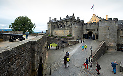 Stirling Castle in Stirling, Scotland, UK