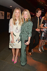 Left to right, MARTHA WARD and REBECCA MARKS at a Night of Disco in aid of Save The Children held at The Roundhouse, Chalk Farm Road, London on 5th March 2015.