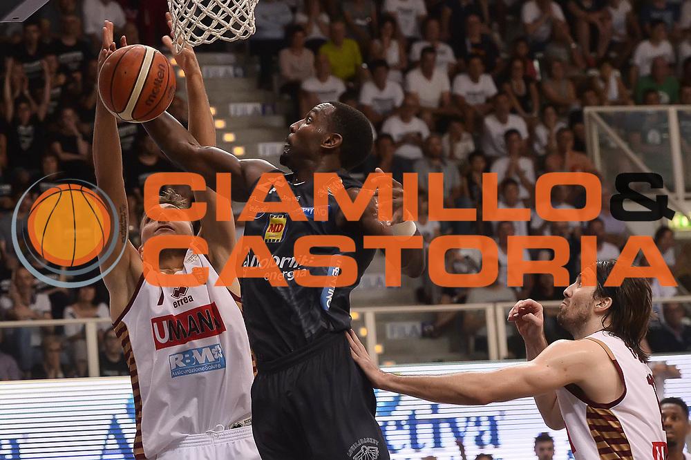 Dustin Hogue<br /> Dolomiti Energia Aquila Basket Trento - Umana Reyer Venezia<br /> Playoff Gara 4<br /> Lega Basket 2016/2017<br /> Trento 16/06/2017<br /> Foto Ciamillo-Castoria