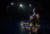Dress rehearsal for Batboy the Musical at St Paul's School.  Karen Bobotas Photographer