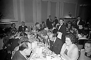 14/02/1963<br /> 02/14/1963<br /> 14 February 1963<br /> Annual Dinner of the Irish Institute of Secretaries at Jury's Hotel, Dublin.