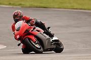 Adam Pratt on a 2004 Honda CBR-1000RR at Hallett Raceway in Oklahoma
