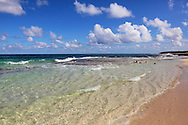 Beach at Punta de Maisi, Guantanamo, Cuba.