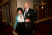 Imelda Staunton; Patrick Stewart;, The Laurence Olivier Awards, The Grosvenor House Hotel. Park Lane. London. 8 March 2009