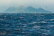 Stormy sea off South Georgia Island, Southern Ocean