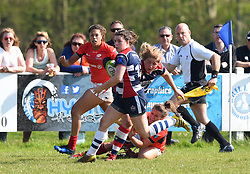 Phoebe Murray of Bristol Ladies - Mandatory by-line: Paul Knight/JMP - 09/04/2017 - RUGBY - Cleve RFC - Bristol, England - Bristol Ladies v Saracens Women - RFU Women's Premiership Play-off Semi-Final
