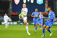 Gaetan COURTET - 05.03.2015 - Brest / Auxerre - 1/4Finale Coupe de France<br />Photo : Maxime Kerriou / Icon Sport