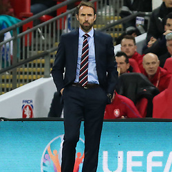 Gareth Southgate. Manager of England
