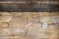 Napoli, Italia - Una veduta di un marmo dell'interno  della chiesa di Santa Maria del Popolo agli Incurabili a Napoli. <br /> Ph. Roberto Salomone Ag. Controluce<br /> ITALY - A view of a marble inside the   church of Santa Maria delle Grazie agli Incurabili in Naples on July 25, 2013.