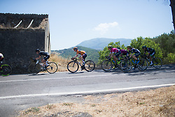 Megan Guarnier (USA) of Boels-Dolmans Cycling Team rides in the chase group on Stage 8 of the Giro Rosa - a 141.8 km road race, between Baronissi and Centola fraz. Palinuro on July 7, 2017, in Salerno, Italy. (Photo by Balint Hamvas/Velofocus.com)