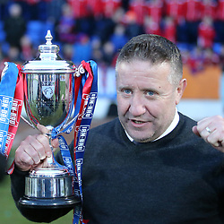 Dumbarton v Inverness Caledonian Thistle   Irn-Bru Cup final   24 March 2018