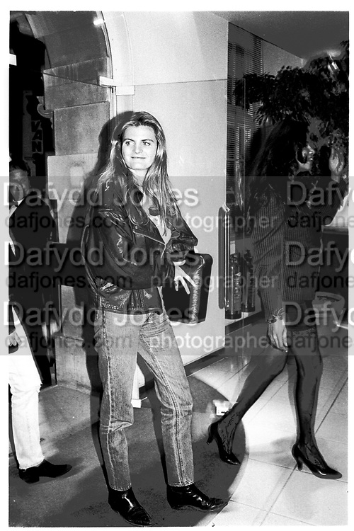 suzannah constantine, London. 1991,<br /> <br /> SUPPLIED FOR ONE-TIME USE ONLY&gt; DO NOT ARCHIVE. &copy; Copyright Photograph by Dafydd Jones 248 Clapham Rd.  London SW90PZ Tel 020 7820 0771 www.dafjones.com