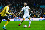 Leeds United defender Ben White (5) during the EFL Sky Bet Championship match between Leeds United and Millwall at Elland Road, Leeds, England on 28 January 2020.