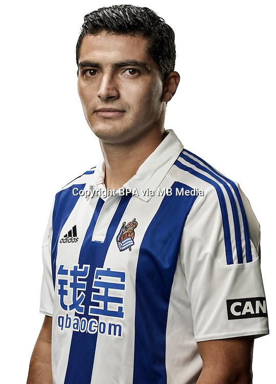Spain - Liga BBVA 2015-2016 / <br /> ( Real Sociedad de Futbol ) - <br /> Gonzalo Castro Irizabal