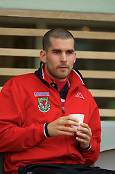 REYKJAVIK, ICELAND - Wednesday, May 28, 2008: Wales' Daniel Nardiello before the international friendly match against Iceland at the Laugardalsvollur Stadium. (Photo by David Rawcliffe/Propaganda)