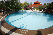 Malaysia, Langkawi. Meritus Pelangi Beach Resort & Spa. The pool.