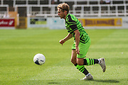 Forest Green Rovers George Williams(11) during the Pre-Season Friendly match between Bath City and Forest Green Rovers at Twerton Park, Bath, United Kingdom on 27 July 2019.