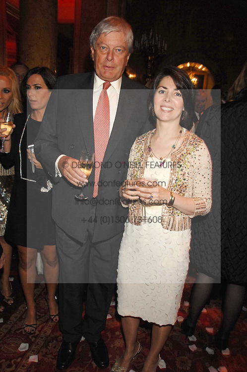 ARCHIE & SHARON STIRLING at a party to celebrate the launch of the 'Inde Mysterieuse' jewellery collection held at Lancaster House, London SW1 on 19th September 2007.<br /><br />NON EXCLUSIVE - WORLD RIGHTS