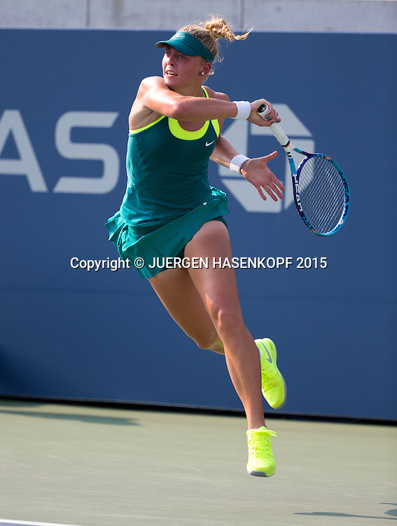 Carina Witthoeft (GER)<br /> <br /> Tennis - US Open 2015 - Grand Slam ITF / ATP / WTA -  Flushing Meadows - New York - New York - USA  - 1 September 2015.