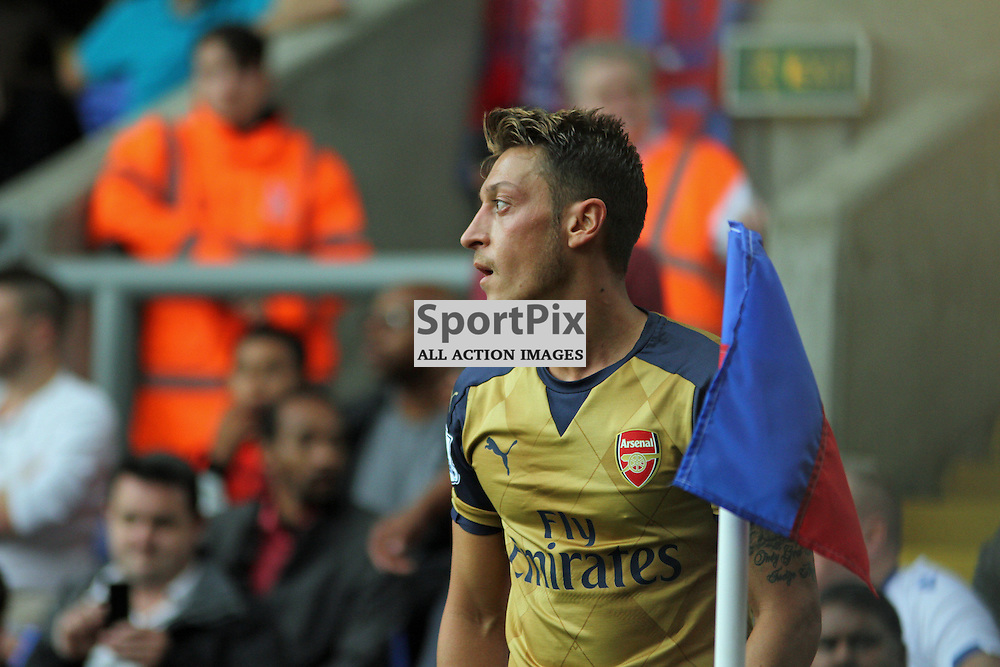 Mesut Ozil During Crystal Palace vs Arsenal on Sunday the 16th August 2015.