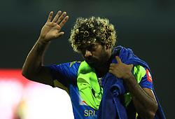 October 23, 2018 - Colombo, Sri Lanka - Sri Lankan cricketer Lasith Malinga   during the 5th One Day International cricket match between Sri Lanka and England at the R Premadasa International Cricket Stadium  Sri Lanka. Tuesday 23 October 2018  (Credit Image: © Tharaka Basnayaka/NurPhoto via ZUMA Press)