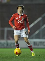 Bristol City's Luke Freeman - Photo mandatory by-line: Dougie Allward/JMP - Mobile: 07966 386802 - 17/02/2015 - SPORT - Football - Bristol - Ashton Gate - Bristol City v Peterborough United - Sky Bet League One