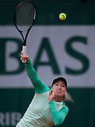 Bethanie Mattek - Sands of USA competes in women's single while Day Fifth during The French Open 2013 at Roland Garros Tennis Club in Paris, France.<br /> <br /> France, Paris, May 30, 2013<br /> <br /> Picture also available in RAW (NEF) or TIFF format on special request.<br /> <br /> For editorial use only. Any commercial or promotional use requires permission.<br /> <br /> Mandatory credit:<br /> Photo by &copy; Adam Nurkiewicz / Mediasport