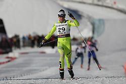 05/03/2011 OSLO 2011 - FIS NORDIC WORLD SKI CHAMPIONSHIPS .JEZERSEK Barbara during the 30 km ladies cross country free style on.© Photo Pierre Teyssot / Sportida.com.
