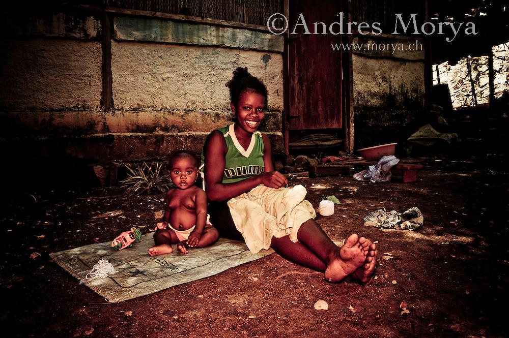 Malagasy family, Nosy Be, Madagascar Image by Andres Morya