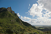 Mauritius. View to the North with Coin de Maire on the far horizon.