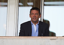 UPTON PARK, ENGLAND - Friday, September 12, 2014: Southend United manager Phil Brown during the Under 21 FA Premier League match at Upton Park. (Pic by David Rawcliffe/Propaganda)