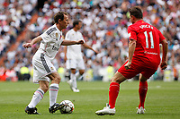 Real Madrid´s Emilio Butragueno during 2015 Corazon Classic Match between Real Madrid Leyendas and Liverpool Legends at Santiago Bernabeu stadium in Madrid, Spain. June 14, 2015. (ALTERPHOTOS/Victor Blanco)