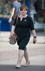 © Licensed to London News Pictures. 31/05/2017. Cambridge, UK.  Labour party Shadow Foreign Secretary Emily Thornbury walk near Senate House in Cambridge ahead of a leaders debate on BBC one. Recent polls have show a closing in the gap between the Labour Party and Conservative Party, in what was expected to be a landslide general election victory for the Conservatives. Photo credit: Peter Macdiarmid/LNP