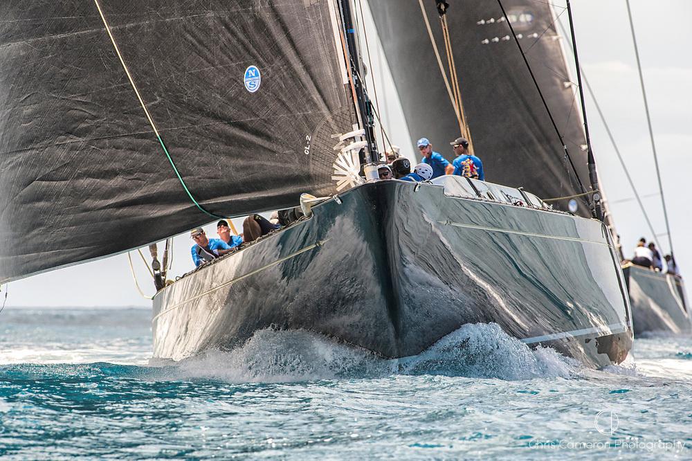 Bermuda, 13th June 2017. America's Cup Superyacht regatta. J Class, Hanuman, JK6
