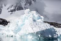Antarctic ice scenery.