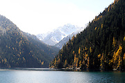 Autumn in Jiu Zhai Gou National Park, Sichuan Province, China.