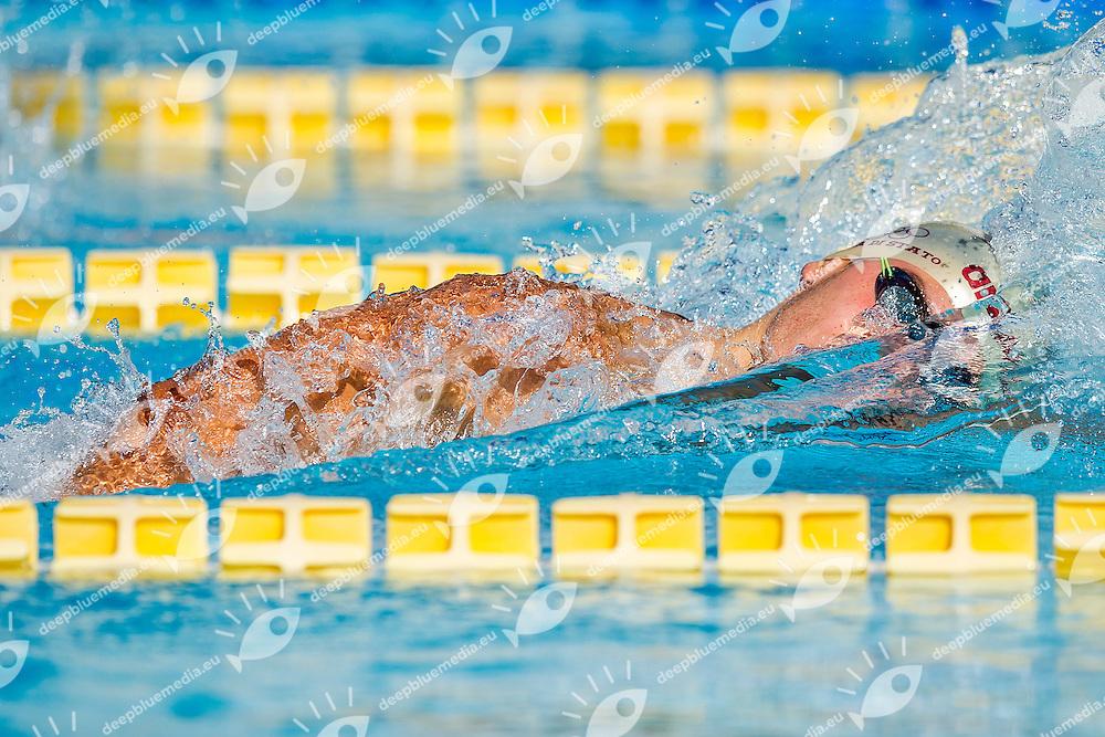 Mattia Zuin ITA <br /> Fiamme Oro<br /> 200 Stile Libero Uomini<br /> Stadio del Nuoto, Roma<br /> Day 07 10-08-2016<br /> Campionati Italiani di Categoria 2016<br /> Photo Andrea Masini/Deepbluemedia/Insidefoto