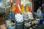 Market near the Koutoubia Mosque, Marrakesh, Morocco
