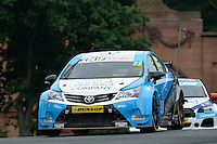 #22 Chris Smiley GBR TLC Racing Toyota Avensis  during first practice for the BTCC Oulton Park 4th-5th June 2016 at Oulton Park, Little Budworth, Cheshire, United Kingdom. June 04 2016. World Copyright Peter Taylor/PSP.