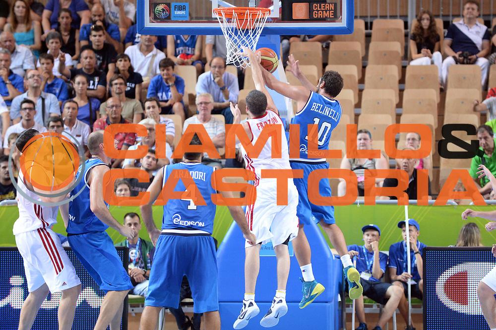 DESCRIZIONE : Capodistria Koper Slovenia Eurobasket Men 2013 Preliminary Round Russia Italia Russia Italy<br /> GIOCATORE : Marco Belinelli<br /> CATEGORIA : Rimbalzo Controcampo<br /> SQUADRA : Italia<br /> EVENTO : Eurobasket Men 2013<br /> GARA : Russia Italia Russia Italy<br /> DATA : 04/09/2013 <br /> SPORT : Pallacanestro&nbsp;<br /> AUTORE : Agenzia Ciamillo-Castoria/Max.Ceretti<br /> Galleria : Eurobasket Men 2013 <br /> Fotonotizia : Capodistria Koper Slovenia Eurobasket Men 2013 Preliminary Round Russia Italia Russia Italy<br /> Predefinita :