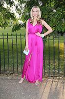 Noelle Reno, The Serpentine Gallery summer party, Kensington Gardens London UK, 26 June 2013, (Photo by Richard Goldschmidt)