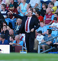 Photo: Mark Stephenson. <br /> Aston Villa v Liverpool. Barclays Premiership. 11/08/2007. <br /> Liverpool's manager Rafa Benitez