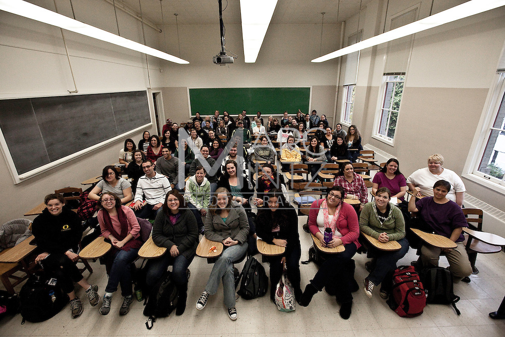 Family and Human Services Class of 2011. University of Oregon. Eugene, Oregon.