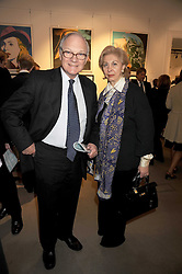 LORD & LADY RENWICK at the Spear's Wealth Management Awards held at Sotheby's, 34-35 New Bond Street, London on 29th September 2008.