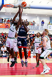 Daniel Edozie of Bristol Flyers - Rogan/JMP - 11/10/2019 - BASKETBALL - SGS Wise Arena - Bristol, England - Bristol Flyers v Plymouth Raiders - BBL Cup.