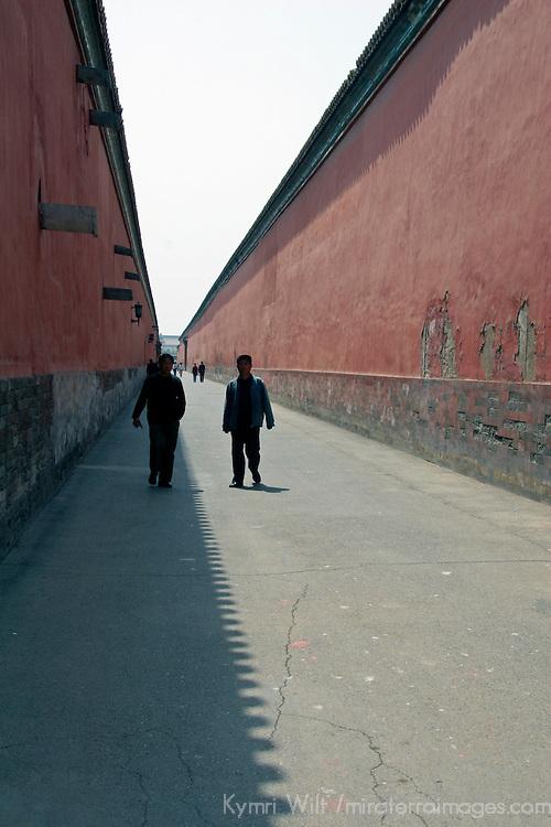 Asia, China, Beijing. Inside the Forbidden City walls.