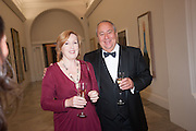 CATHERINE WEISS; MARK WEISS, Mark Weiss dinner, Nationaal Portrait Gallery. London. 15 October 2012.